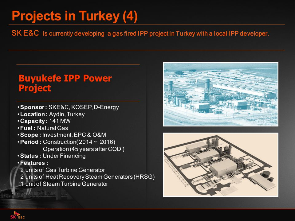 Projects in Turkey (4) Buyukefe IPP Power Project