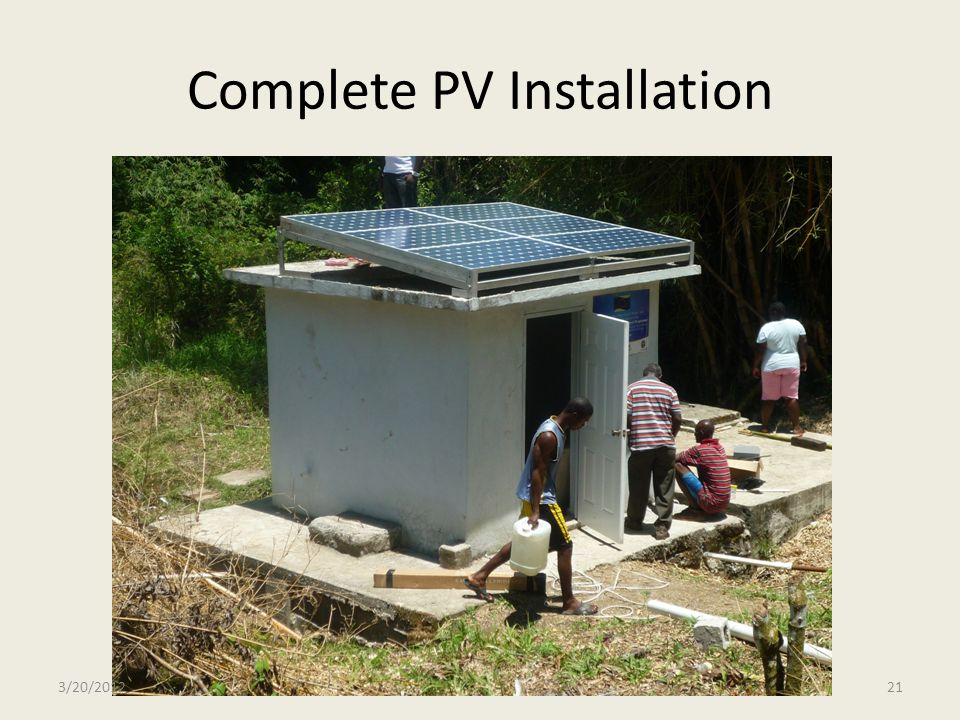 Complete PV Installation
