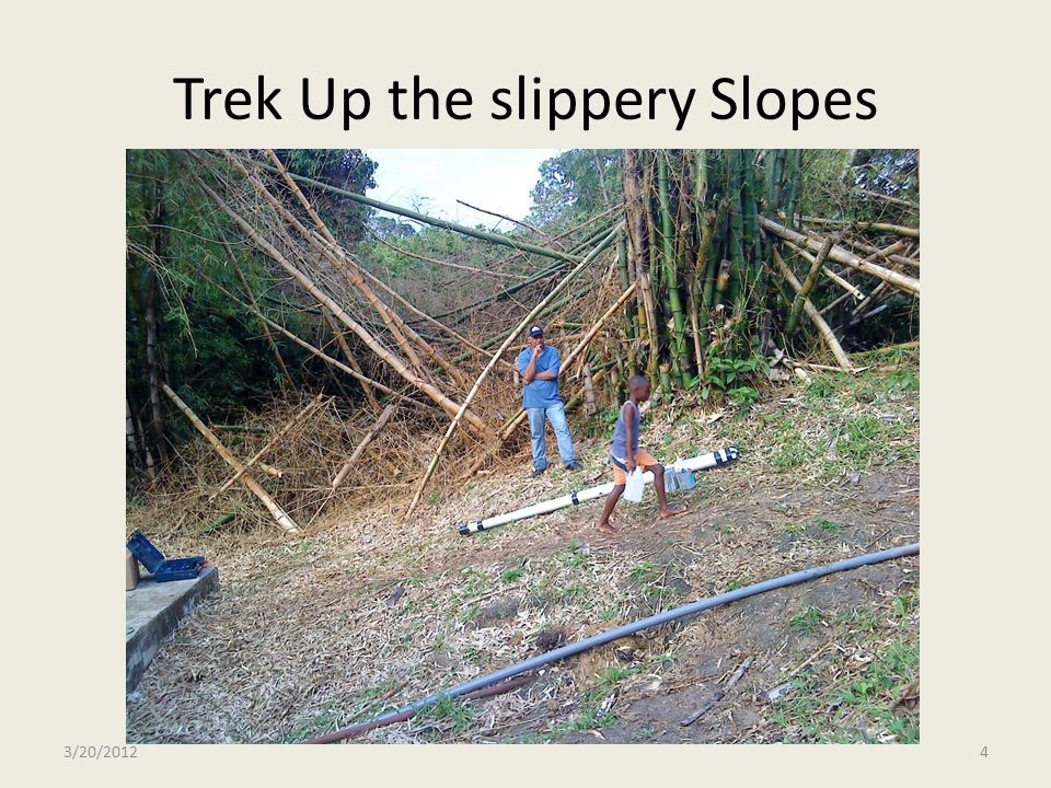 Trek Up the slippery Slopes