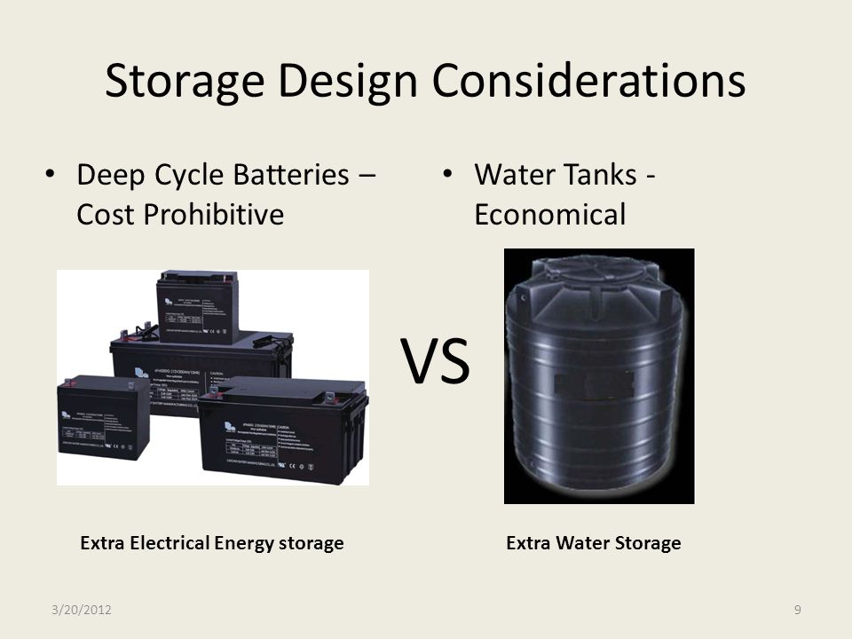 Storage Design Considerations