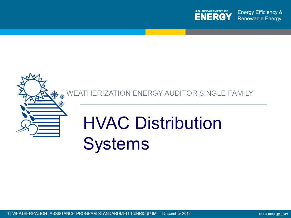HVAC Distribution Systems