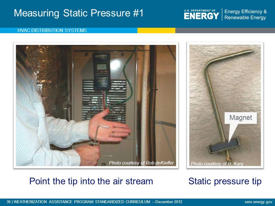 Measuring Static Pressure #1