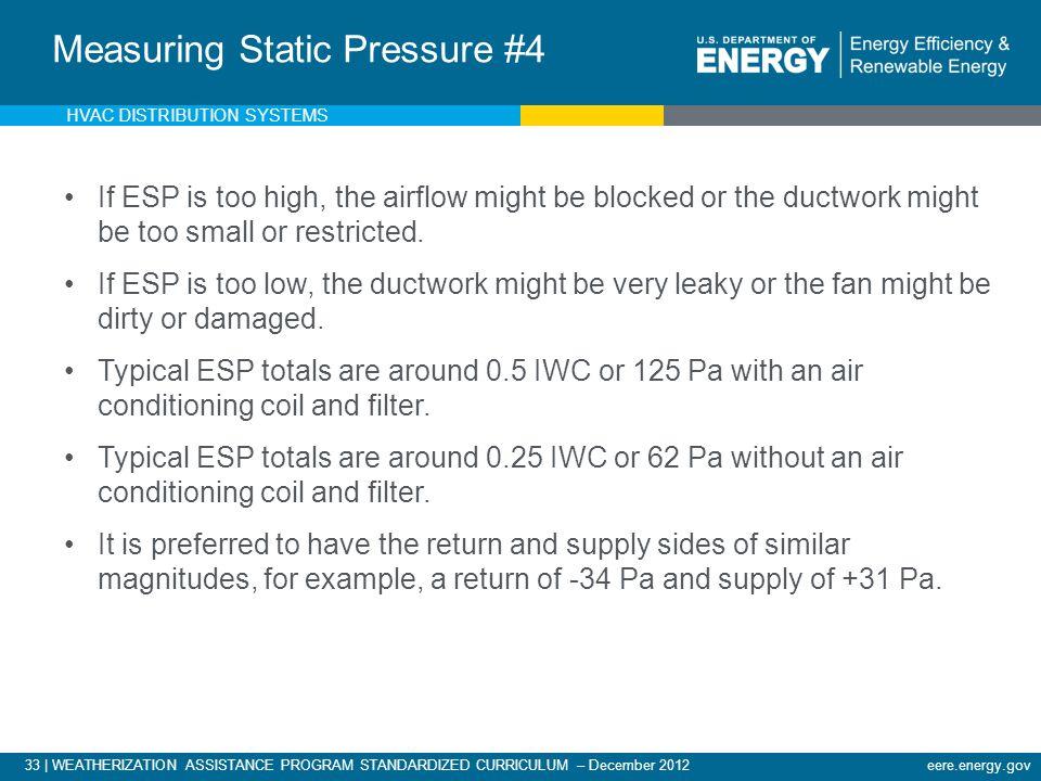 Measuring External Static Pressure