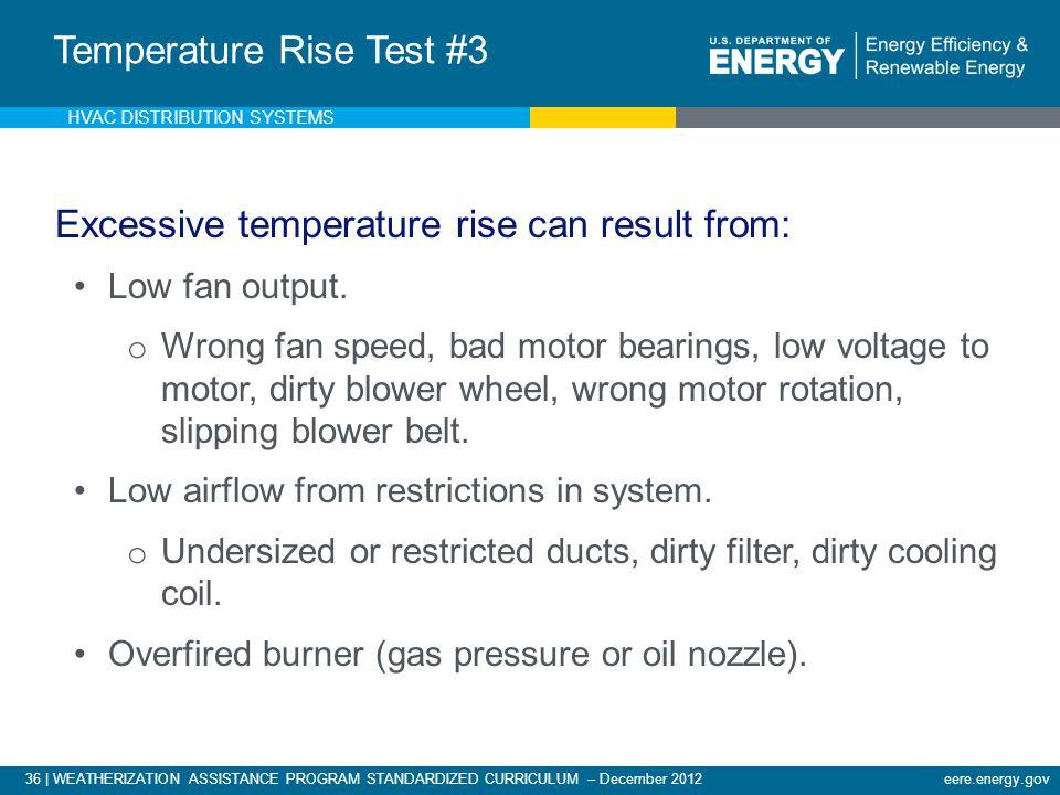 Temperature Rise Test #3