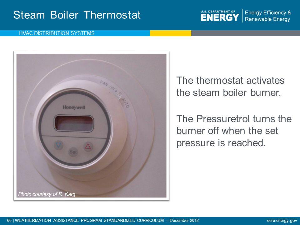 Steam Boiler Thermostat