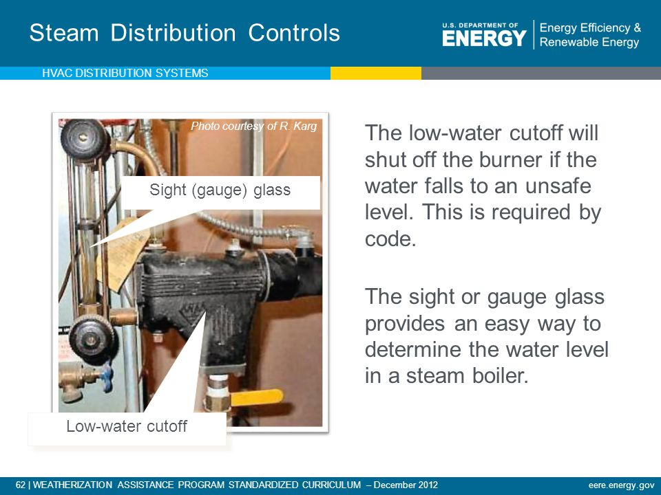 Steam Distribution Controls
