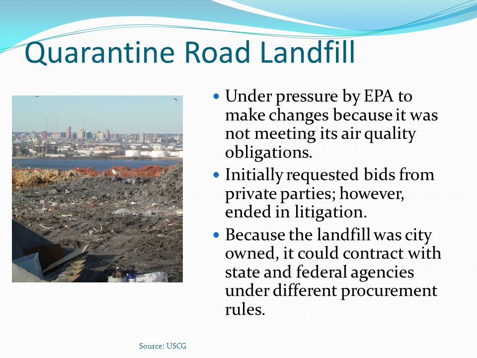 Quarantine Road Landfill