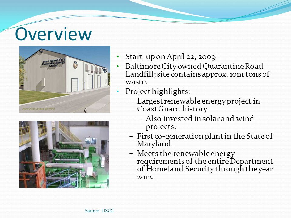 Overview Start-up on April 22, 2009