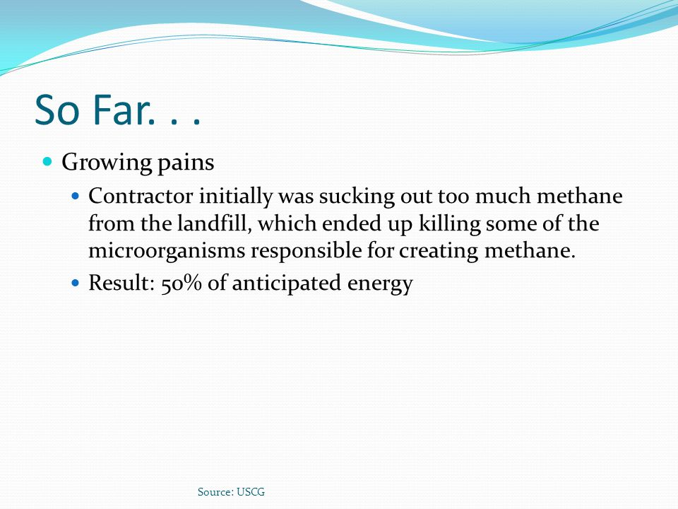 So Far. . . Growing pains.