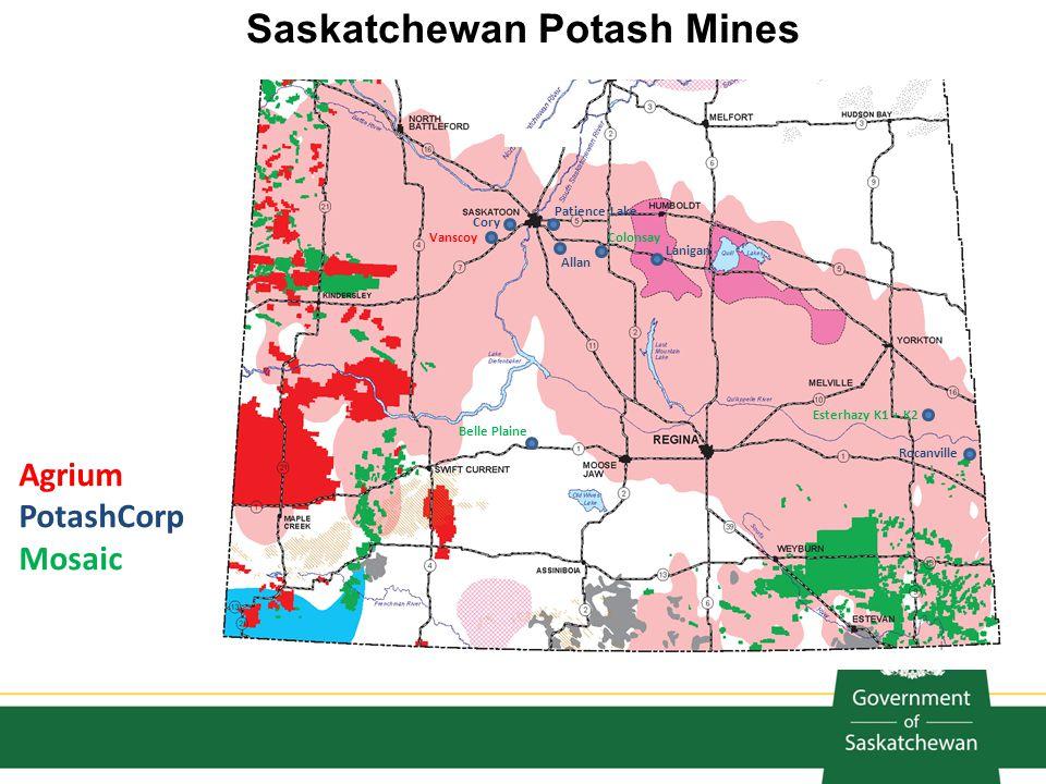Saskatchewan Potash Mines