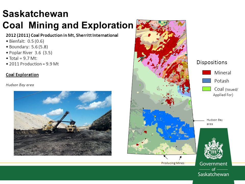 Saskatchewan Coal Mining and Exploration