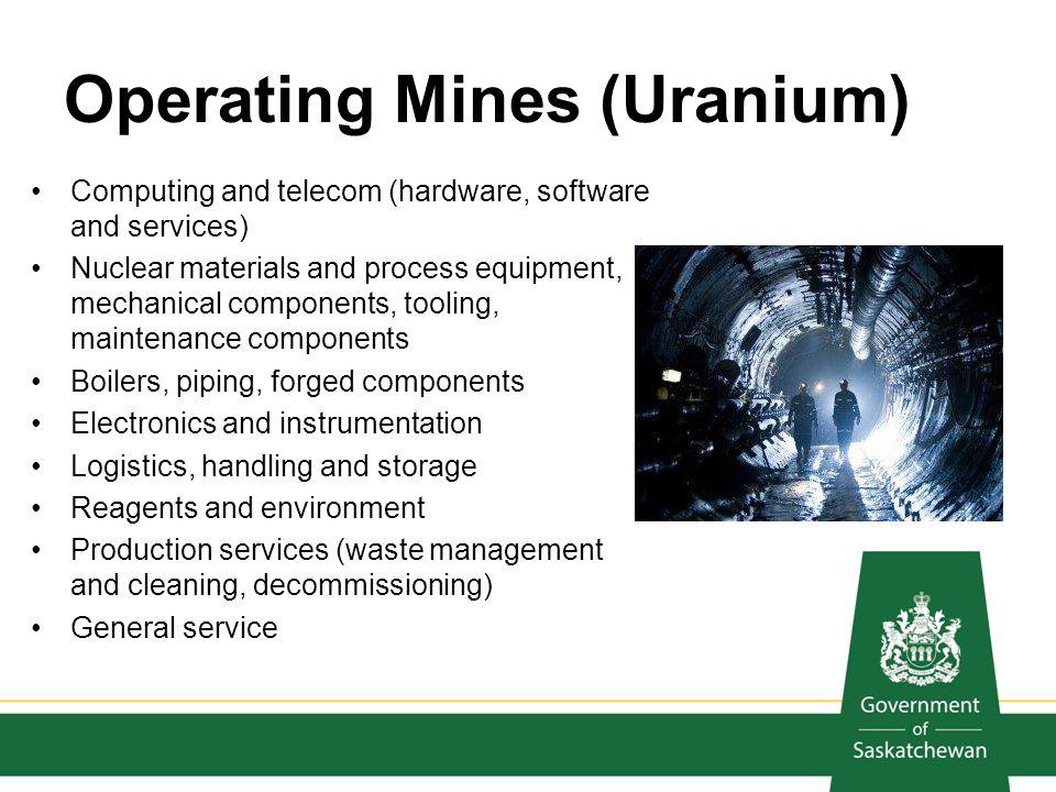 Operating Mines (Uranium)