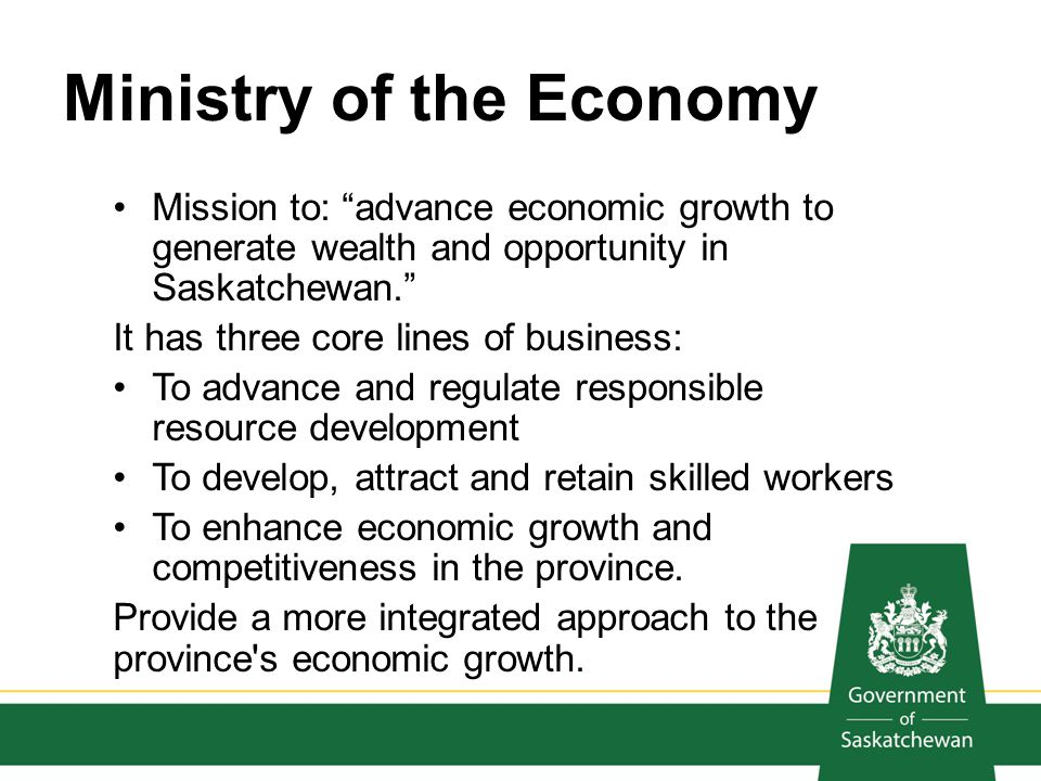 Ministry of the Economy
