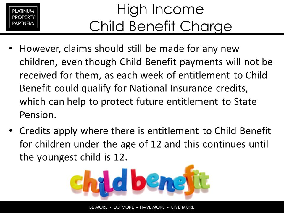 High Income Child Benefit Charge