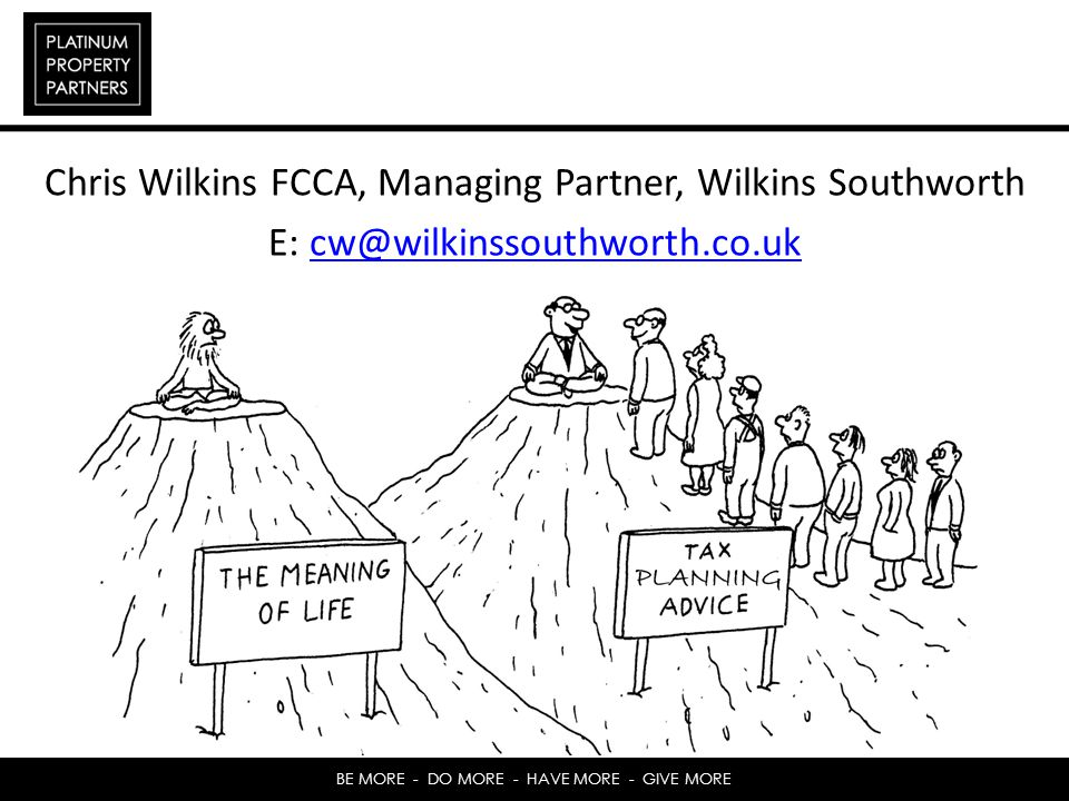 Chris Wilkins FCCA, Managing Partner, Wilkins Southworth