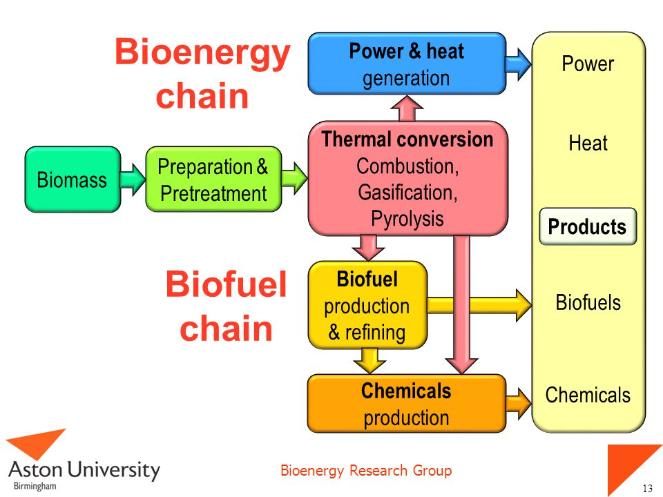 Bioenergy chain Biofuel chain