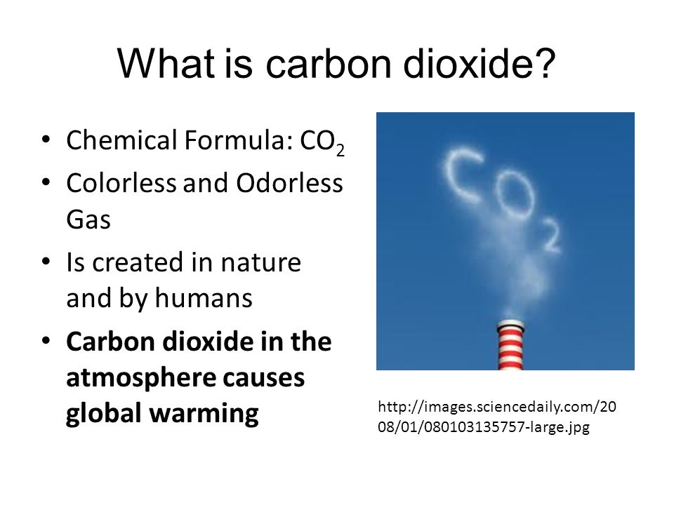What is carbon dioxide Chemical Formula: CO2