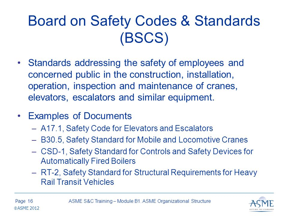 Board on Pressure Technology Codes & Standards (BPTCS)