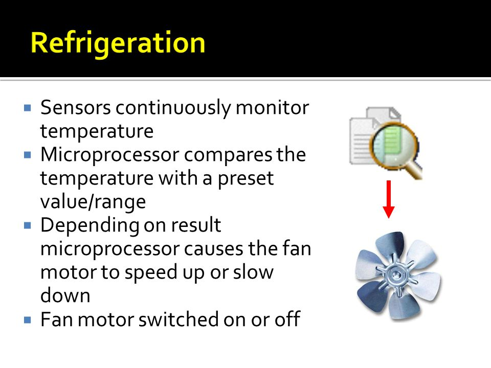 Refrigeration Sensors continuously monitor temperature
