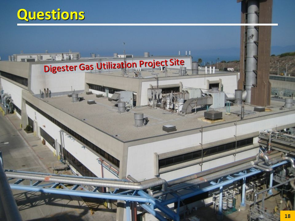 Questions Digester Gas Utilization Project Site 18
