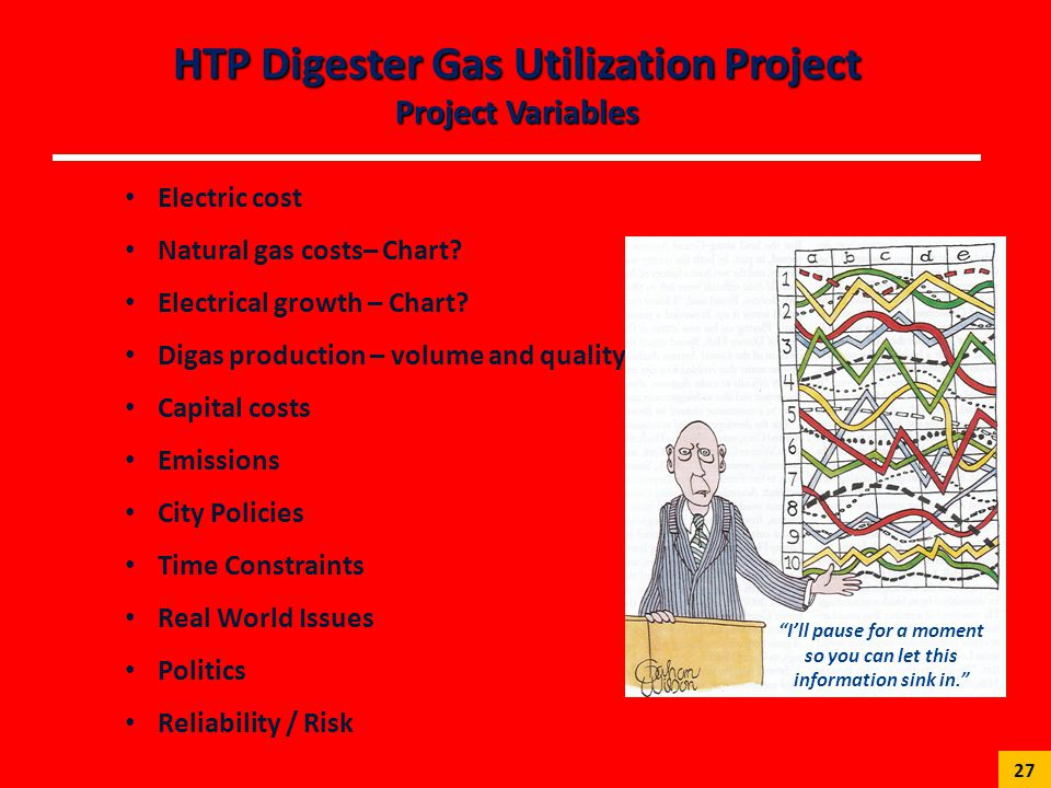 HTP Digester Gas Utilization Project Project Variables
