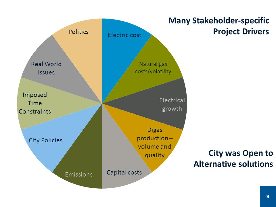 Many Stakeholder-specific Project Drivers