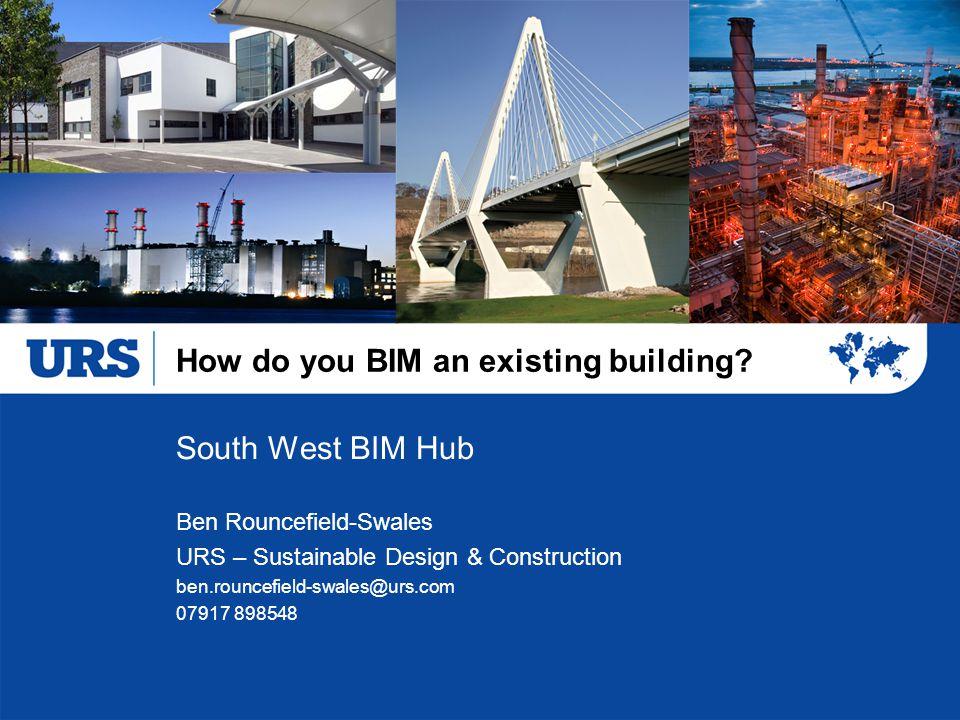 How do you BIM an existing building