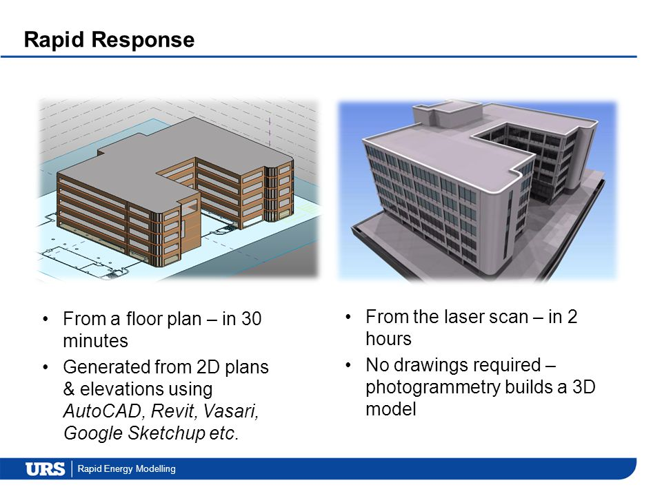 Rapid Response From a floor plan – in 30 minutes