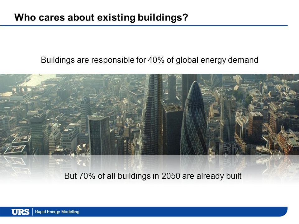 Who cares about existing buildings