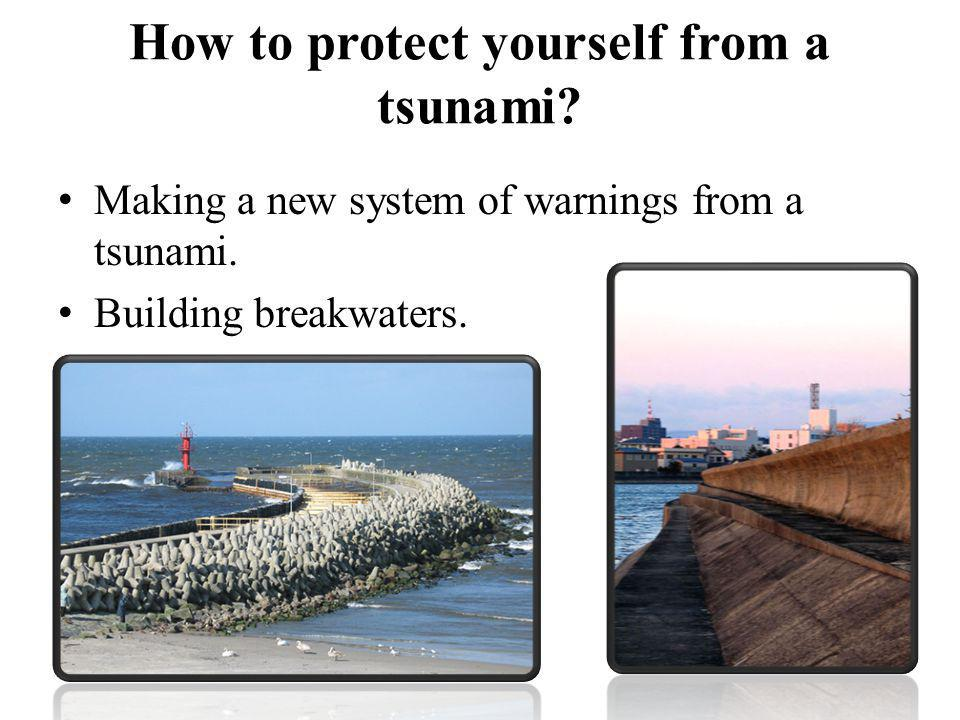 How to protect yourself from a tsunami