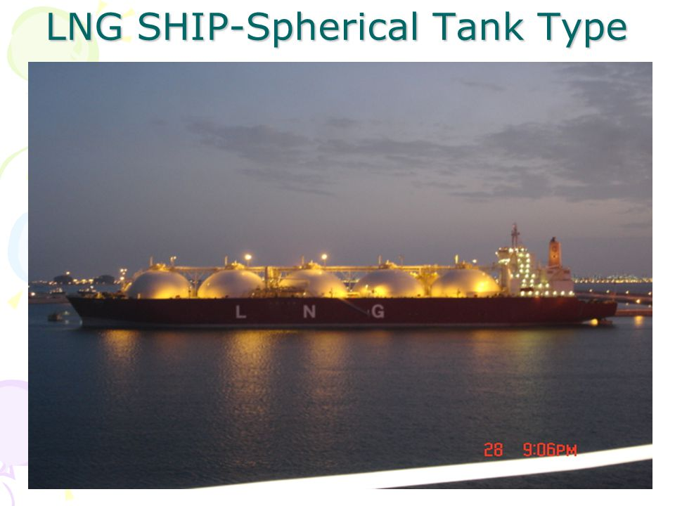 LNG SHIP-Spherical Tank Type
