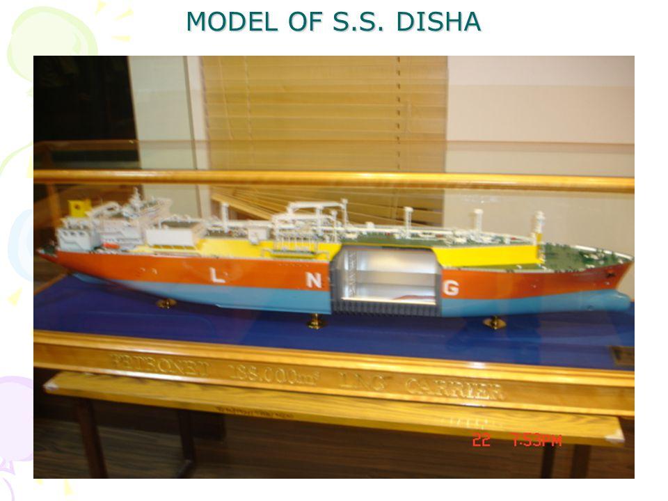 MODEL OF S.S. DISHA