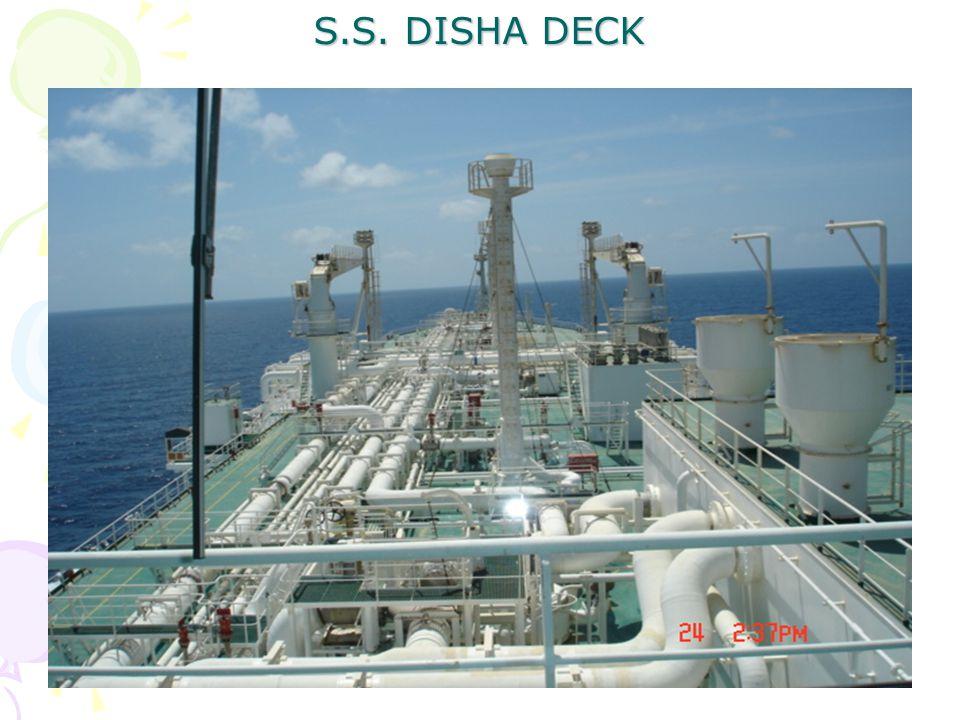 S.S. DISHA DECK