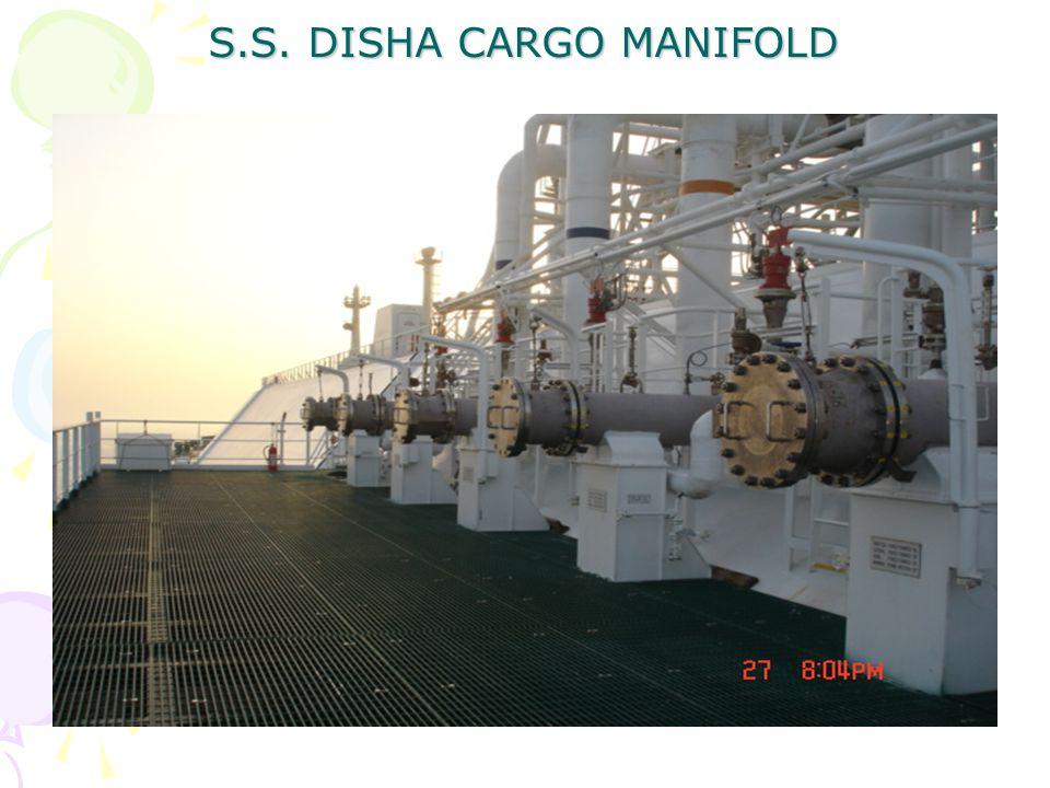 S.S. DISHA CARGO MANIFOLD