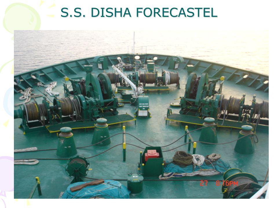 S.S. DISHA FORECASTEL