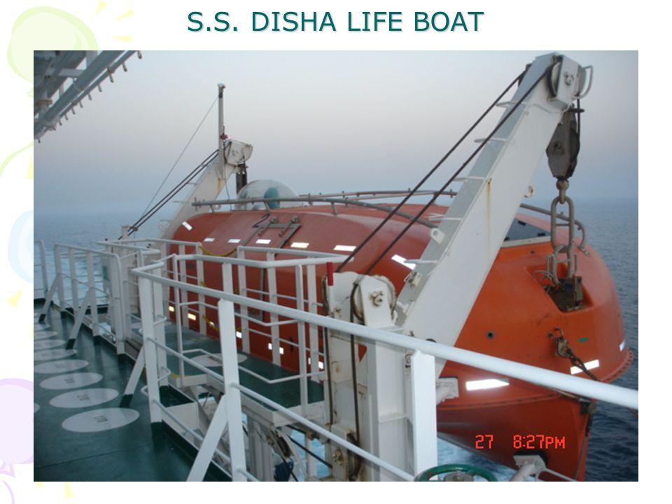 S.S. DISHA LIFE BOAT