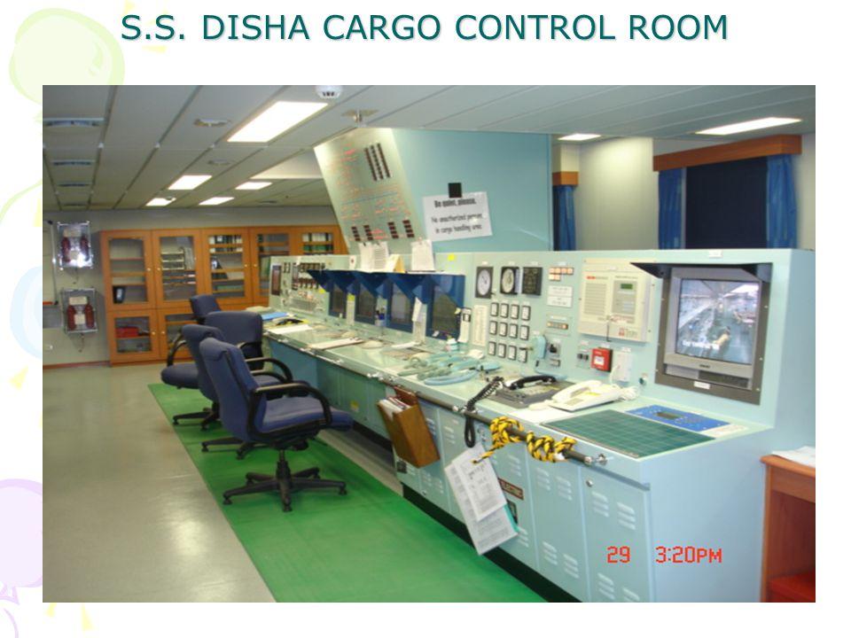S.S. DISHA CARGO CONTROL ROOM