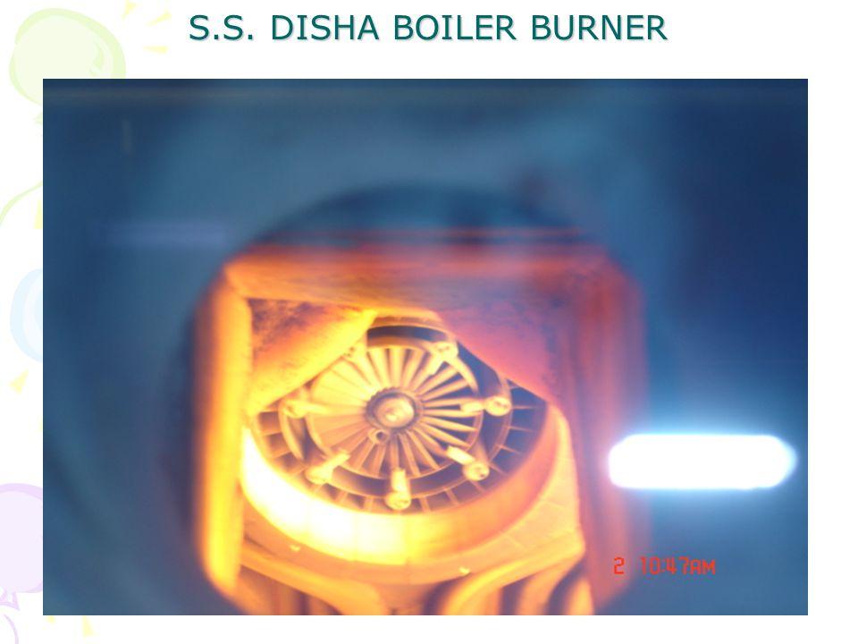 S.S. DISHA BOILER BURNER