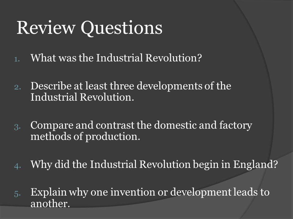 compare and contrast the first and second industrial revolution French revolution or industrial revolution a note on the contrasting experiences of england and france  the second point has to do with the fact that.