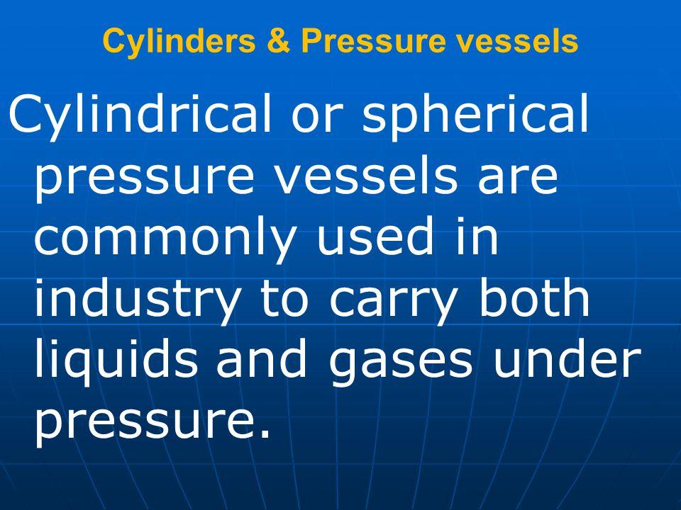 Cylinders & Pressure vessels