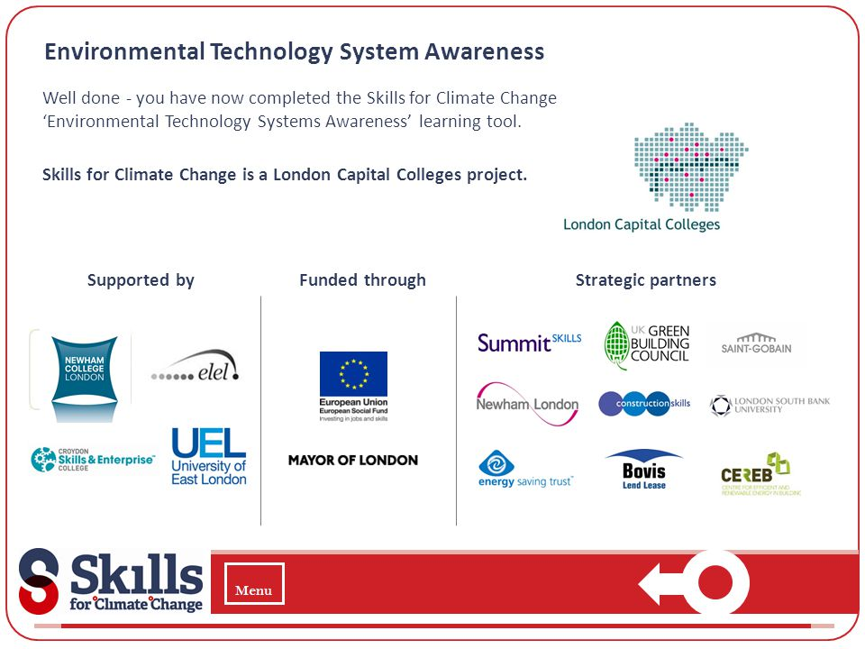 Environmental Technology System Awareness