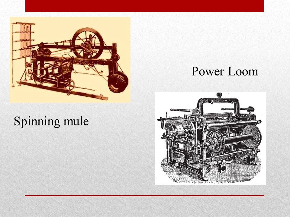 Power Loom Spinning mule