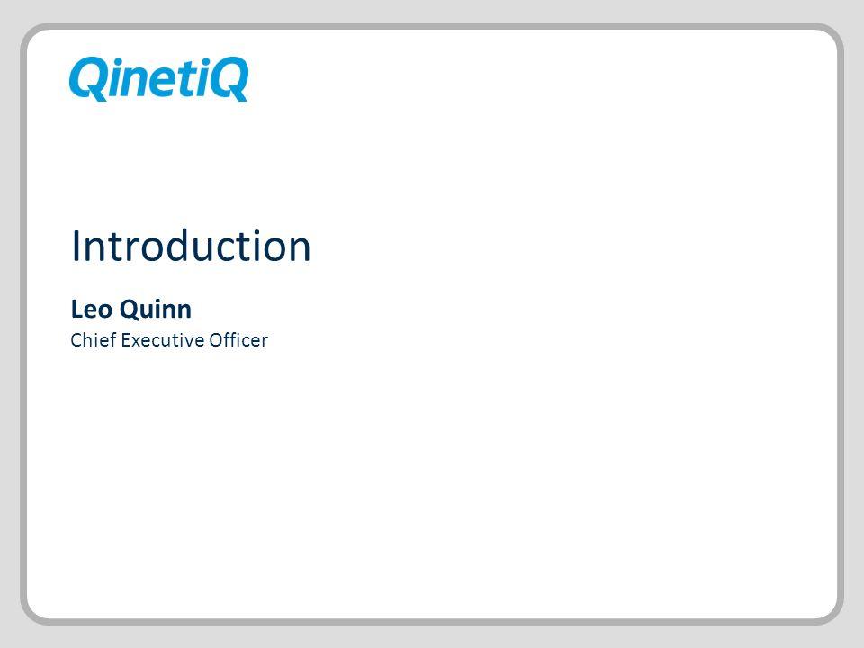 Leo Quinn Chief Executive Officer