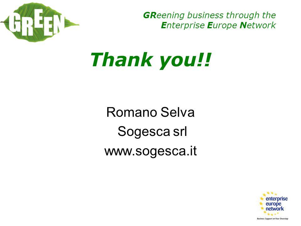 Romano Selva Sogesca srl www.sogesca.it