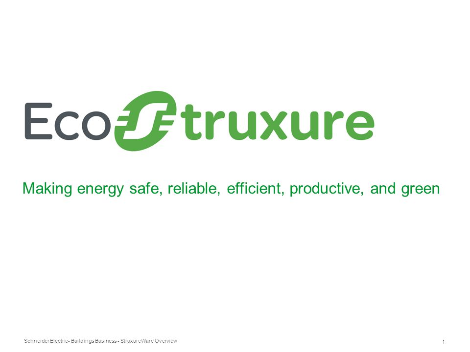 Making energy safe, reliable, efficient, productive, and green