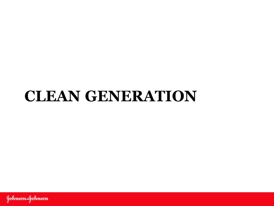 Clean Generation