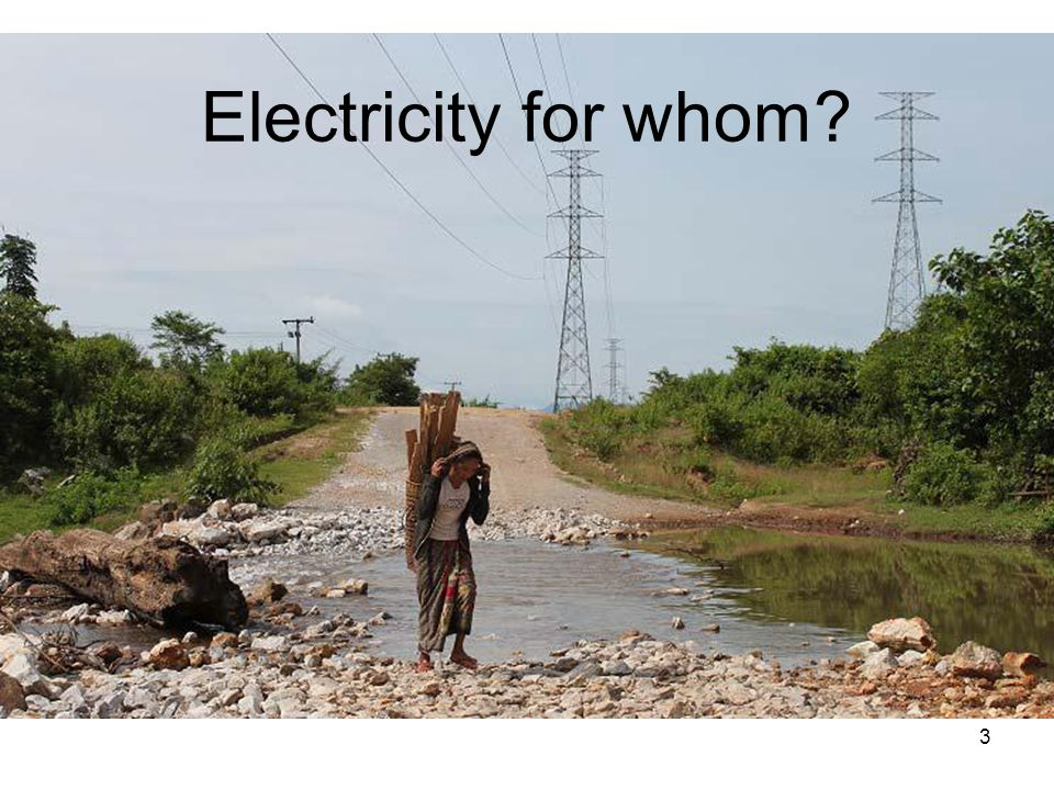 Electricity for whom