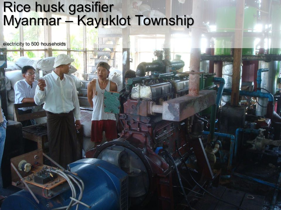 Myanmar – Kayuklot Township electricity to 500 households
