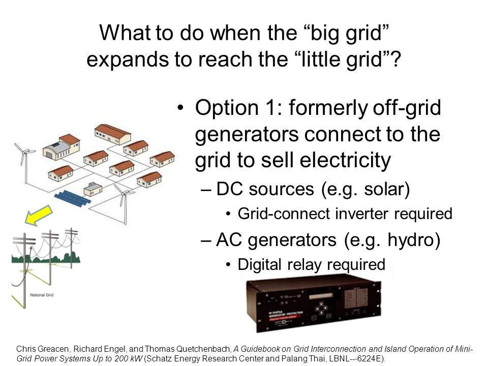 What to do when the big grid expands to reach the little grid
