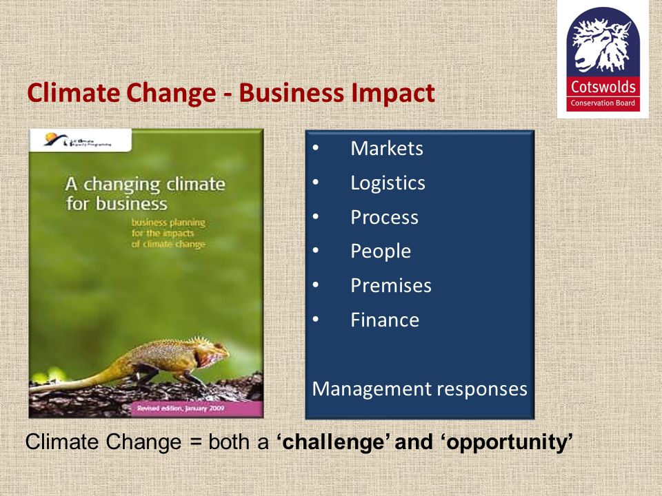 Climate Change - Business Impact
